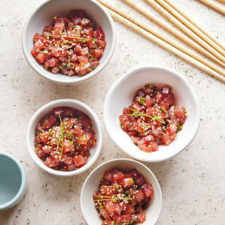Tuna Tartare with Sesame
