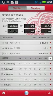 Detroit Red Wings Mobile - screenshot thumbnail
