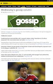 BBC Sport Screenshot 27