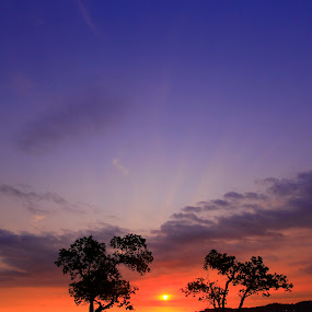 side by side by Zenith Halalan - Landscapes Sunsets & Sunrises ( nature, sunset, landscape, people )