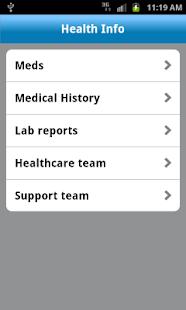AT&T mHealth- screenshot thumbnail