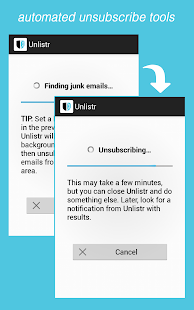 Unlistr - Clean Up Your Email- screenshot thumbnail