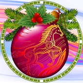 Christmas Eve Clock widget