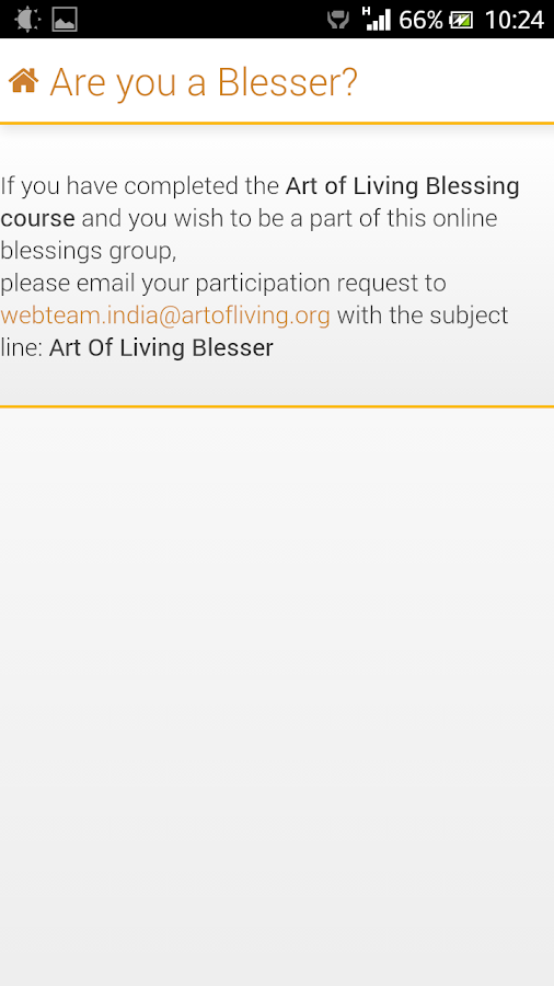 Blessings - screenshot