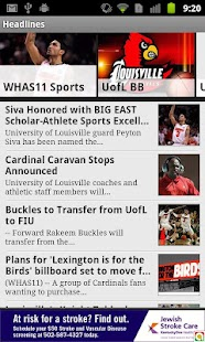 LouisvilleCollegeSports WHAS11 - screenshot thumbnail