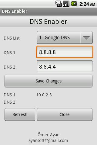 DNS Enabler