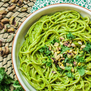 Kale and Pistachio Pesto.