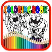 Coloring Book : Hero Ranger