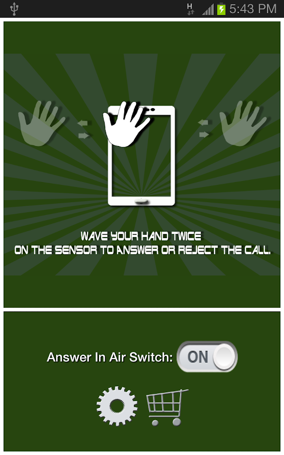 Answer In Air (Free) - screenshot
