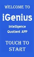 Screenshot of iGenius Genius