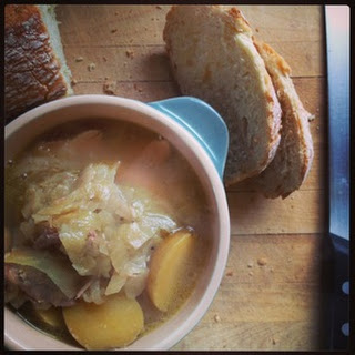 Cabbage, White Bean, and Potato Soup