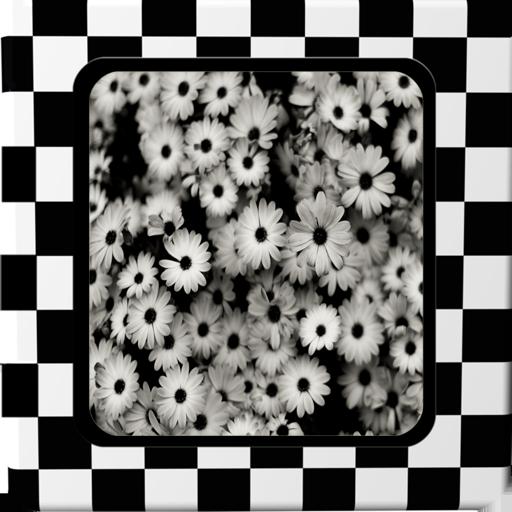 黑白相框 攝影 LOGO-阿達玩APP