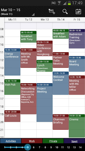 玩免費生產應用APP|下載Business Calendar (日曆) app不用錢|硬是要APP