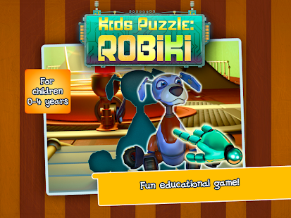 Kids puzzle: Robiki - screenshot thumbnail