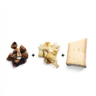 Mushroom-Artichoke Calzone