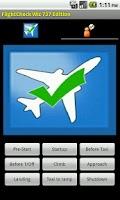 Screenshot of FlightCheck Wiz