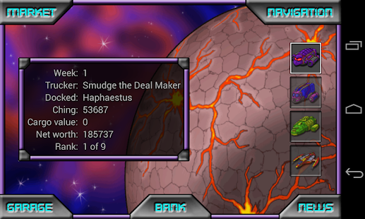 Space Trading Profiteer- screenshot thumbnail