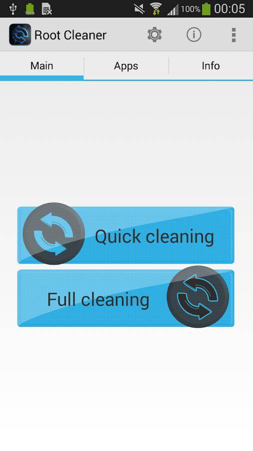 Root Cleaner - screenshot