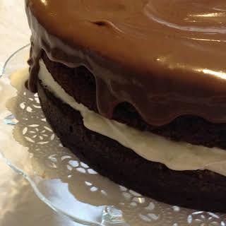 Triple Chocolate Cake.