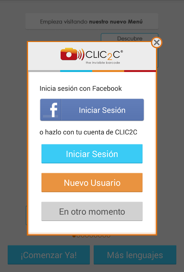 CLIC2C - screenshot