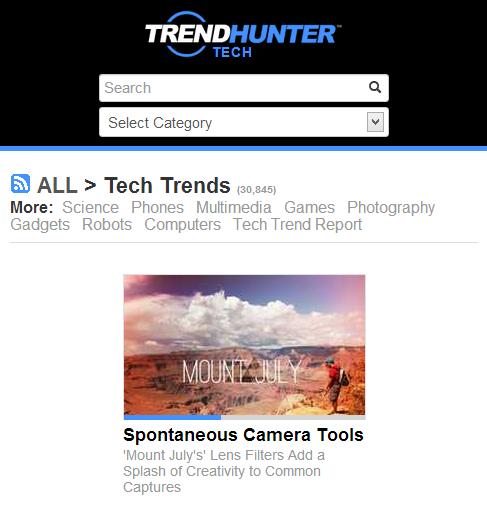 Trend Hunter - 1 in Trends