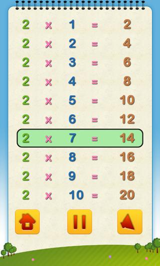 Worksheets Tables For Maths math tables android apps on google play screenshot