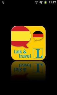 Spanisch talk&travel screenshot