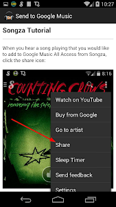 Send to Google Music screenshot 5