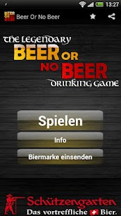 Beer or no Beer™ Drinking Game - screenshot thumbnail