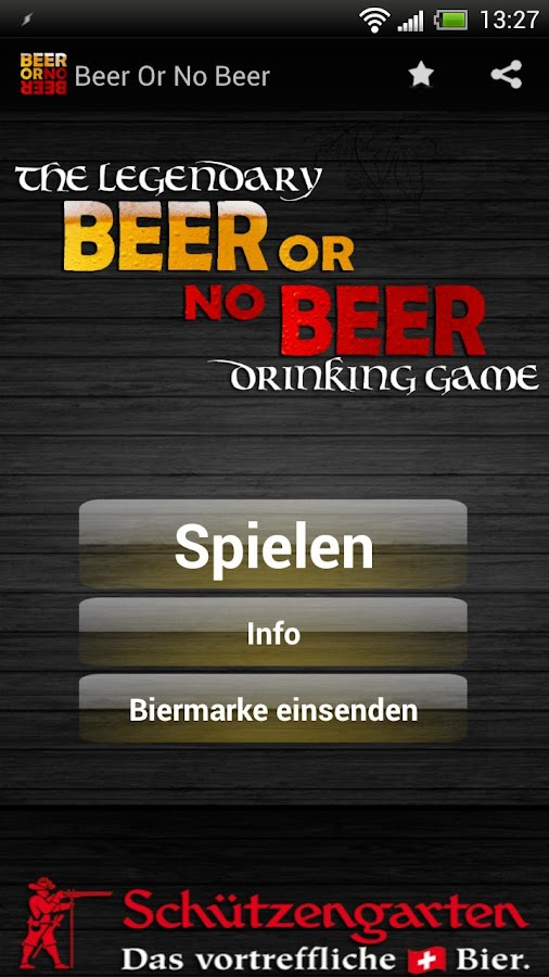 Beer or no Beer™ Drinking Game - screenshot