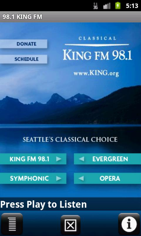Classical KING FM - screenshot