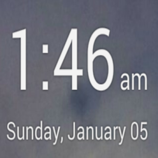 Simple Digital Clock - screenshot thumbnail