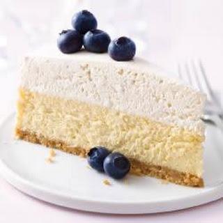 PHILADELPHIA Vanilla Mousse Cheesecake.