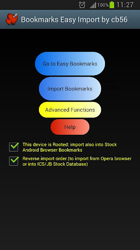 Bookmarks Easy Import