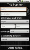 Screenshot of RideCU - CUMTD