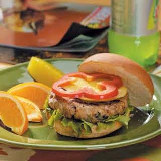 Caribbean Turkey Burgers.