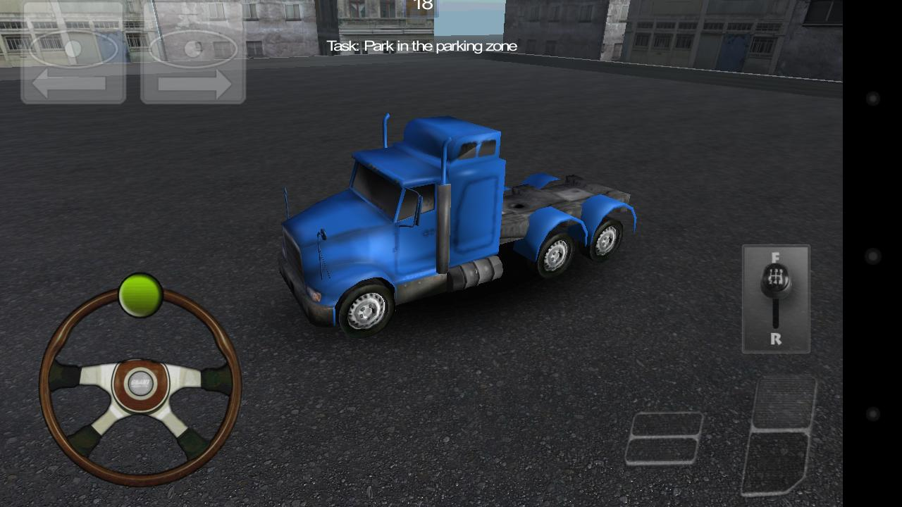 Truck Parking 3D- screenshot
