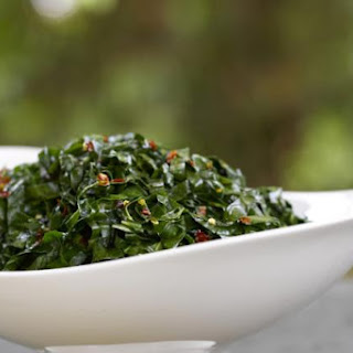 Swiss Chard with Vinegar and Butter