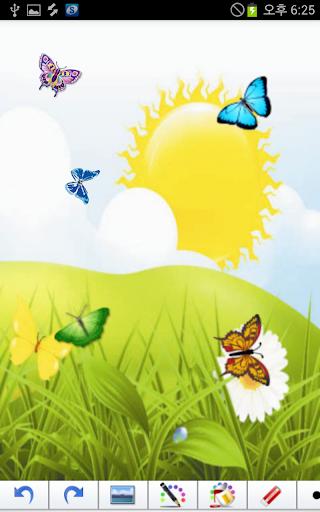 玩免費教育APP|下載蝴蝶園貼紙書 app不用錢|硬是要APP