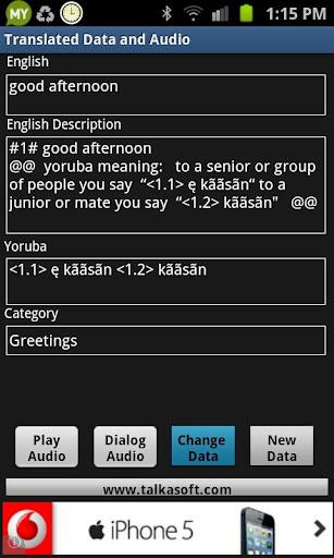 Learn to Speak Yoruba Language