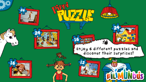 Pippi's Jigsaw Puzzle