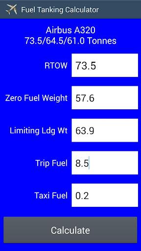 Aircraft Fuel Tanker Calc Free