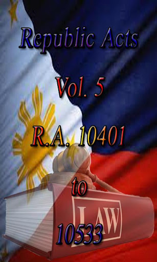 Philippine Laws - Vol. 5