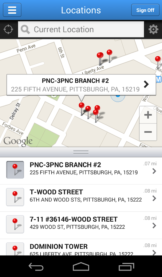 PNC Mobile- screenshot