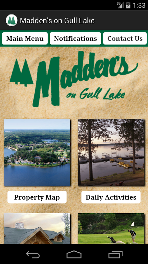Madden's on Gull Lake - screenshot