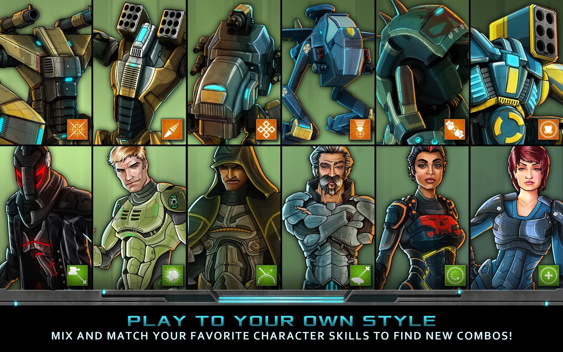 Nitropia: War Commanders screenshot #14
