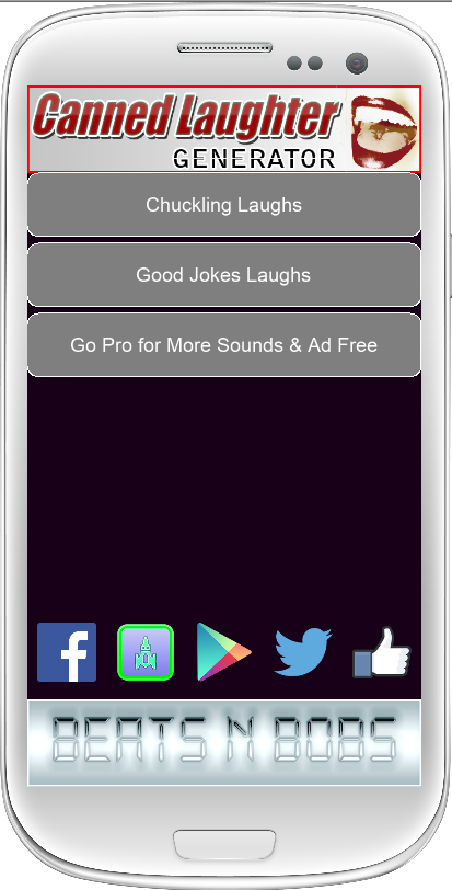 Canned Laughter Generator FREE- screenshot