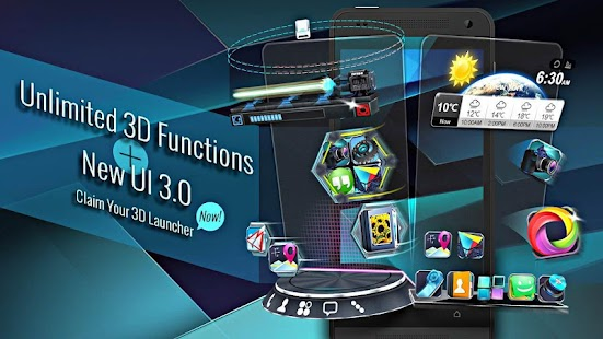 Next Launcher 3D Shell- screenshot thumbnail