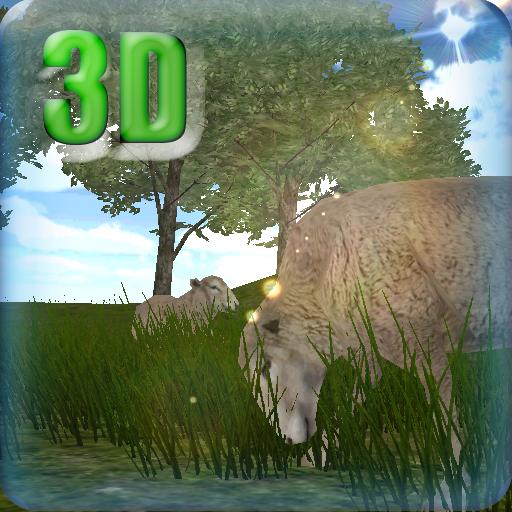 3D Live Wallpaper Cute sheeps