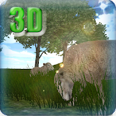 3D Live Wallpaper Cute sheeps